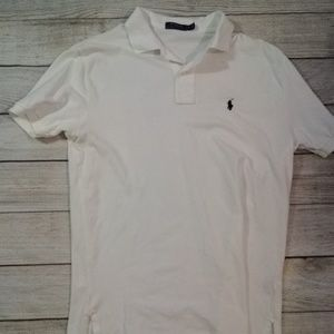 Polo by Ralph Lauren White Medium Fit Snow White